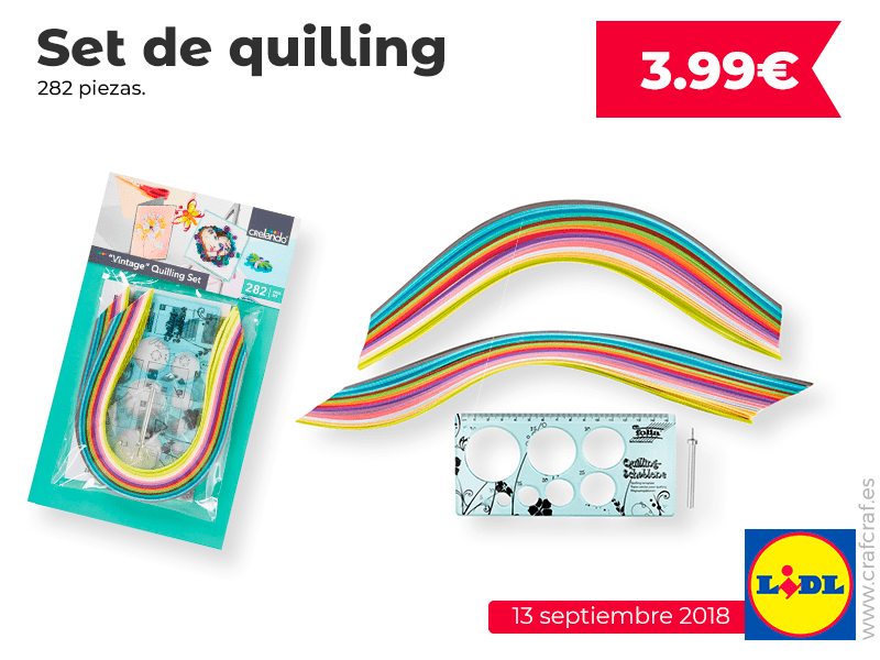 quilling lidl